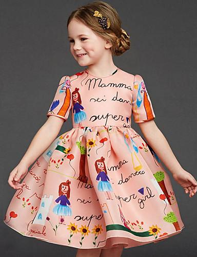 שמלה אנימציה ורד מאובק בנות ילדים