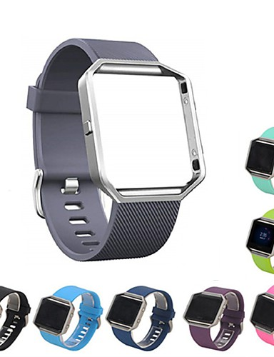 Watch Band için Fitbit Blaze Fitbit Spor Bantları Silikon Bilek Askısı