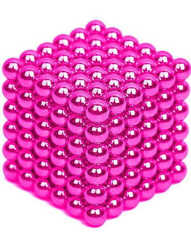 billige Leker og hobbyer-64-1000 pcs 4mm Magnetiske leker Magnetiske kuler Byggeklosser Supersterke neodyme magneter Neodym-magnet Puzzle Cube Neodym-magnet Stress og angst relief Lindrer ADD, ADHD, angst, autisme Magnetisk