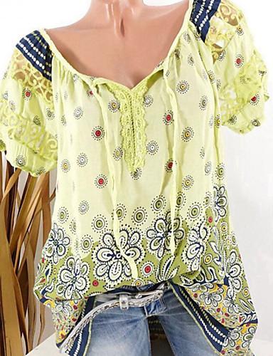 Kadın's Gömlek Desen, Geometrik Temel Siyah