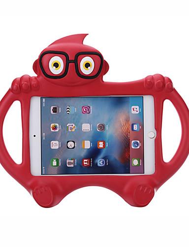 Pouzdro Uyumluluk Apple iPad Yeni Hava (2019) / iPad Air / iPad (2018) Çocuk Kilidi Arka Kapak Solid / 3D Karikatür EVA / iPad (2017)