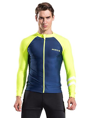 voordelige Herenondergoed & Zwemkleding-Heren Zwart Geel blauw Tankini Zwemkleding - Kleurenblok M L XL Zwart