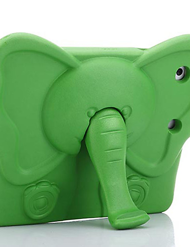 Pouzdro Uyumluluk Apple iPad Mini 3/2/1 / iPad Mini 4 Şoka Dayanıklı / Çocuk Kilidi Arka Kapak Solid / Hayvan / 3D Karikatür EVA