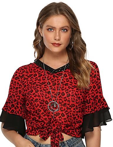 99089d13cf3 Λεοπάρ, Γυναικείες Μπλούζες, Αναζήτηση στο LightInTheBox