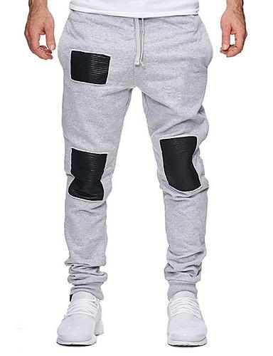 Erkek Temel Eşoğman Altı Pantolon - Desen Siyah Açık Gri YAKUT US32 / UK32 / EU40 US34 / UK34 / EU42 US36 / UK36 / EU44