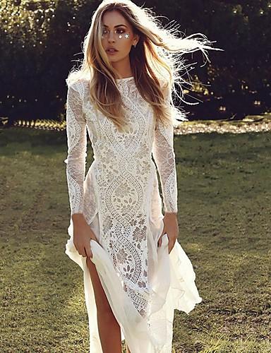 Kadın's Kılıf Elbise - Solid Maksi