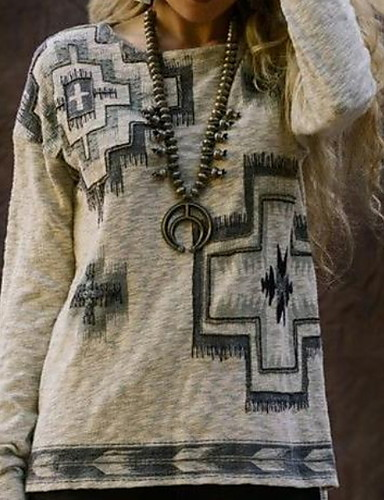 billige Dametopper-T-skjorte Dame - Ensfarget Lilla