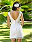 abordables Robes de Mariée-Lanting Bride® Fourreau / Colonne Petites Tailles / Grandes Tailles Robe de Mariage - Chic & Moderne / Brillant & Séduisant / Réception