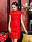 levne Cheongsam-cheognsam čínská tradional svatební šaty