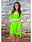 baratos Vestidos de Mulher-Feminino Evasê Vestido,Casual Retalhos Decote Redondo Acima do Joelho Manga Longa Algodão Outono Micro-Elástica Média