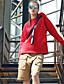 preiswerte Kapuzenjacken & Sweatshirts-Damen Pullover Lässig/Alltäglich Aktiv Solide Rundhalsausschnitt Unelastisch Baumwolle Polyester Lange Ärmel Herbst