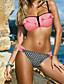 cheap Women's Swimwear & Bikinis-Women's Bandeau Print Bikini