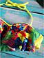 abordables Maillots de Bain Femme & Bikinis-Tankini Aux femmes Fleur Bandeau Polyester