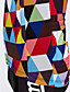 billige Sykkeljerseys-21Grams Herre Kortermet Sykkeljersey - Regnbue Rutet Sykkel Jersey Topper, Pustende Fort Tørring Svettereduserende Coolmax® 100% Polyester / Elastisk