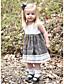 Χαμηλού Κόστους Βρεφικά φορέματα-Μωρό Κοριτσίστικα Βασικό Συνδυασμός Χρωμάτων Αμάνικο Βαμβάκι Φόρεμα Λευκό