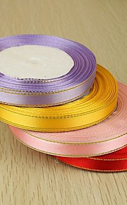 Solid Color Satin Wedding Ribbons Piece/Set Satin Ribbon Decorate favor holder Decorate gift box