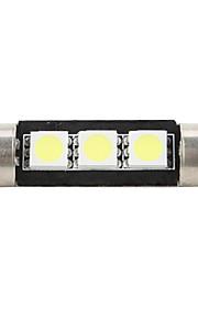 1pc 12 V Décoration Lampe de lecture / Eclairage plaque d'immatriculation / Ampoules LED