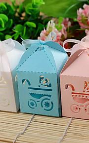 Babyshower Feestbedankjes & cadeaus - Bedank Doosjes Kaart Papier Tuin Thema