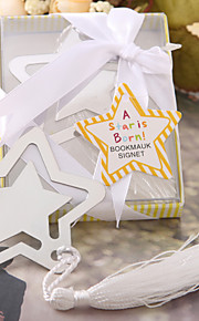 Bruiloft Bruidsshower Babyshower Roestvast staal Boekenleggers &Briefopeners Tuin Thema