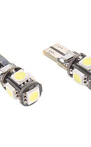 SO.K 1pc CAN-BUS 12 V Décoration Lumières pour tableau de bord / Feux de position latéraux / Ampoules LED