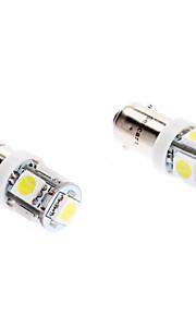 BA9S 1s 5 cms 70lm 6000-6500K lumière blanche Ampoule LED pour la voiture (dc 12v, 2-pack)