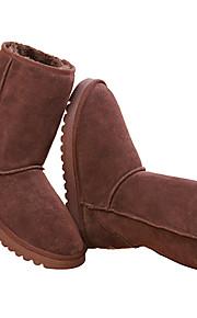 Femme Chaussures pour tous les jours Oxford Sport de détente Café Foncé