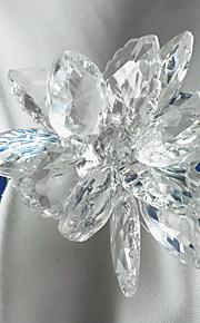 Acrílico Anillo de Servilletas Floral Ecológica Decoraciones de mesa