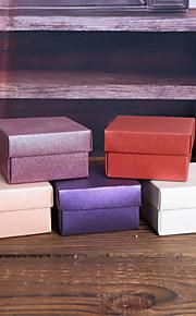Créatif Cubique Papier nacre Titulaire de Faveur avec Motif Boîtes à cadeaux