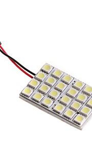 Automatisch Lampen 1W Krachtige LED 24 Interior Lights