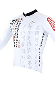 ILPALADINO Homme Manches Longues Maillot de Cyclisme Vélo Maillot, Garder au chaud, Séchage rapide, Design Anatomique