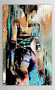 Hang-роспись маслом Ручная роспись - Люди Modern холст