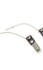 2pcs H3 Automatisch Lampen SMD 3528 250lm Mistlamp For Universeel