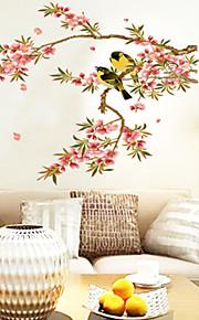 Tiere Blumen Cartoon Design Wand-Sticker Flugzeug-Wand Sticker Dekorative Wand Sticker, Vinyl Haus Dekoration Wandtattoo Wand