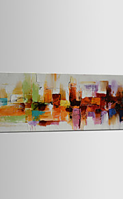 Oil Painting Hand Painted - Abstract Classic Modern Traditional Canvas