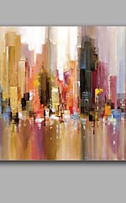 Hang-роспись маслом Ручная роспись - Абстракция Европейский стиль холст
