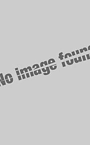رجالي قطن قميص قياس كبير نحيل ياقة كلاسيكية - عسكري أساسي لون سادة أزرق سماوي XXL / كم قصير / الصيف