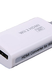 Wi-W2H001 Audio y Video Adaptador y Cable para Nintendo Wii Mini Novedades Con cable 1-3h