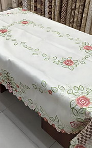 Polyesteri Suorakulma Table Cloths Kukka Patterned Ekologinen Pöytäkoristeet