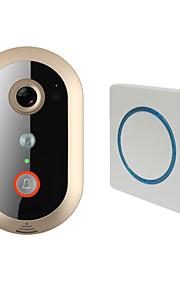 720P(1280*720),VGA(640*480),QVGA(320*240) 135~170° CMOS campanello sistema Senza fili Fotografato / Registrazione