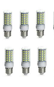 10pcs 10W 850-950lm E14 G9 GU10 E26 / E27 B22 LED-kolbepærer Tube 69 LED Perler SMD 5730 Vandtæt Dekorativ Varm hvid Kold hvid 110-130V