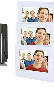 800 x 480 92° CMOS campanello sistema Con fili Fotografato Multifamiliare campanello video