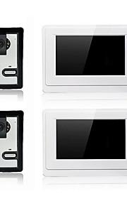 800 x 480 85 to 92 degrees CMOS campanello sistema Con fili Registrazione