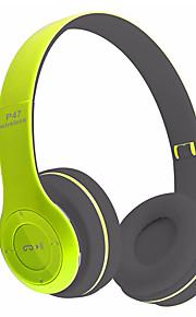 P47 Op het oor Draadloos Hoofdtelefoons Dynamisch Muovi Mobiele telefoon koptelefoon Met volumeregeling met microfoon Geluidsisolerende