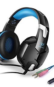 KOTION EACH G1200 Over Oor Hoofdband Bekabeld Hoofdtelefoons Piëzo-elektriciteit Muovi Gaming koptelefoon Met volumeregeling met
