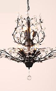 LightMyself™ 8 lumières Lustre Lumière d'ambiance - Cristal, LED, 110-120V / 220-240V Ampoule non incluse / 15-20㎡ / E12 / E14