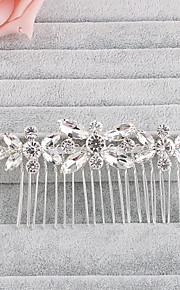 Křišťál Štras Vlasy Hřebeny 1 Svatební Zvláštní příležitosti Přílba