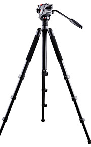 Aluminium 620mm 4.0 Sektioner Digital Kamera Stativ