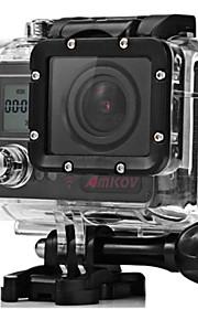 Action Kamera / Sportskamera Skrue klæbemiddel Stativ 20mp 12mp 1280x960Pixel Multi-funktion Wifi USB Justerbar Vandtæt Støv-sikker Alt i