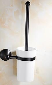 화장실 브러쉬 홀더 앤티크 놋쇠 월마운티드