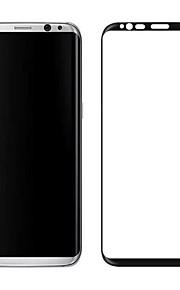 スクリーンプロテクター Samsung Galaxy のために S9 Plus 強化ガラス 1枚 フルボディプロテクター 3Dラウンドカットエッジ 防爆 硬度9H ハイディフィニション(HD)